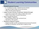 student learning communities1