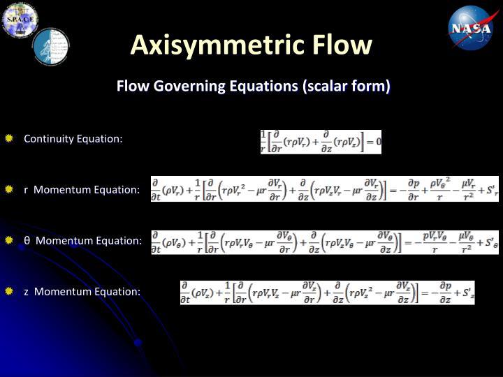 Axisymmetric Flow