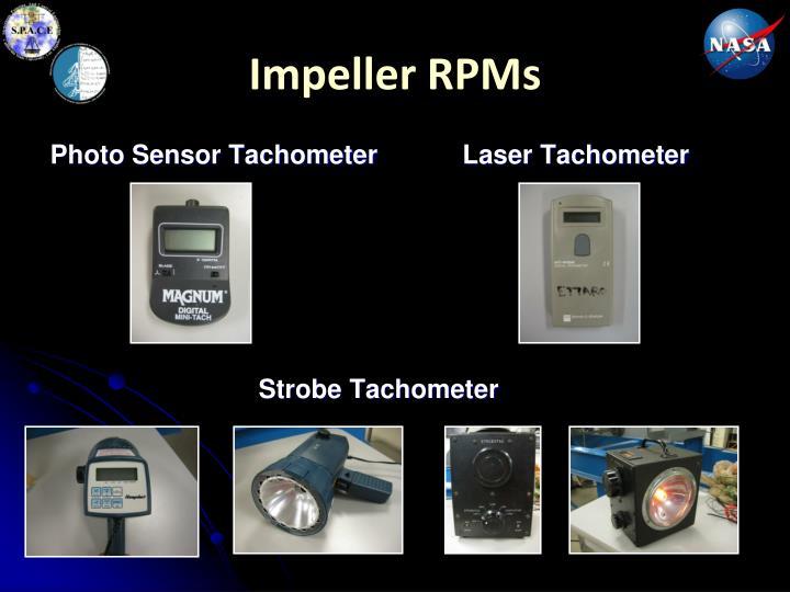 Impeller RPMs