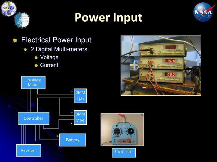 Power Input