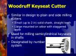 woodruff keyseat cutter