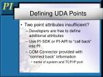defining uda points1
