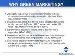 why green marketing