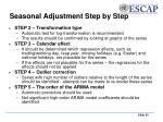 seasonal adjustment step by step1