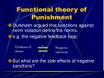 functional theory of punishment