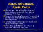 rates structures social facts