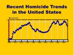 recent homicide trends in the united states
