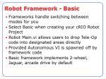 robot framework basic