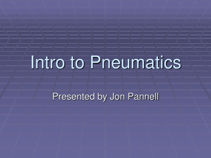 intro to pneumatics n.