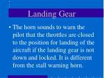 landing gear17