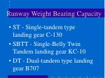 runway weight bearing capacity2