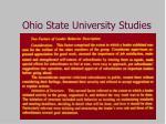 ohio state university studies1