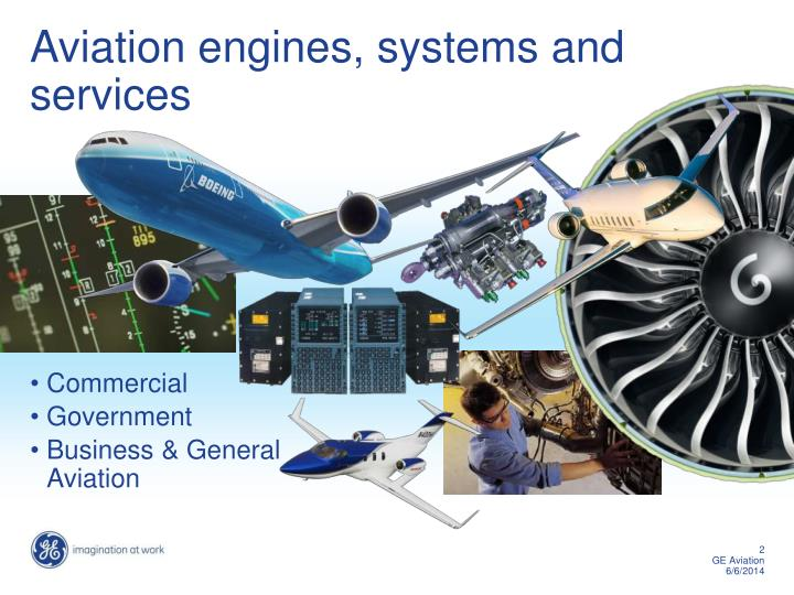 Ppt ge aviation powerpoint presentation id1187063 aviation engines systems and services toneelgroepblik Gallery