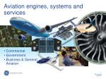 aviation engines systems and services