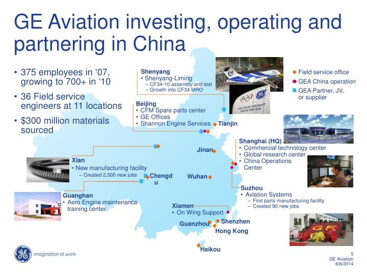Ppt ge aviation powerpoint presentation id1187063 ge aviation investing operating and partnering in china toneelgroepblik Gallery