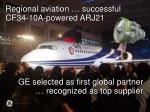 regional aviation successful cf34 10a powered arj21