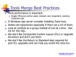 tools merge best practices