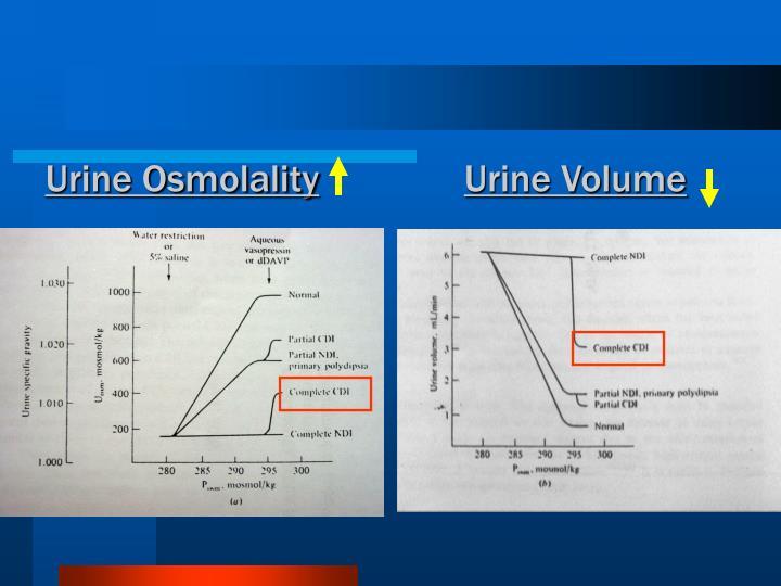 Urine Osmolality