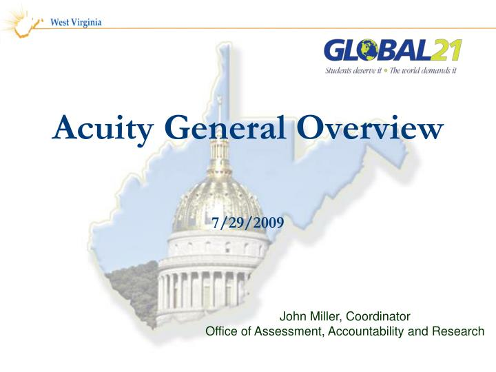 acuity general overview n.
