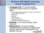 mcgraw hill digital learning yearly progress pro tm1
