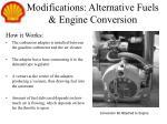 modifications alternative fuels engine conversion1