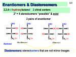 enantiomers diastereomers1