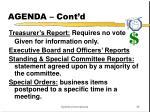 agenda cont d1