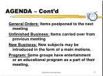 agenda cont d2