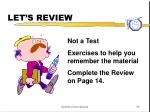 let s review1