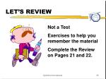 let s review2