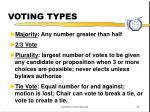 voting types