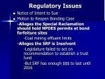 regulatory issues2