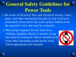 general safety guidelines for power tools2