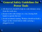 general safety guidelines for power tools5