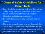 general safety guidelines for power tools6