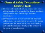 general safety precautions electric tools2
