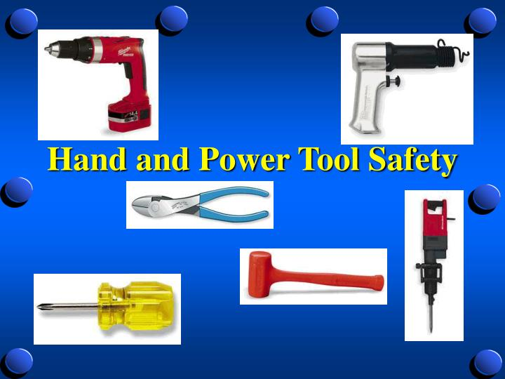 hand and power tool safety n.