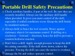 portable drill safety precautions1