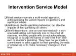 intervention service model