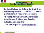 le rsa droits et devoirs