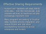 effective sharing requirements1