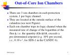 out of core ion chambers
