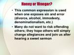 honey or vinegar2