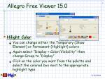 allegro free viewer 15 016