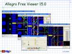 allegro free viewer 15 020