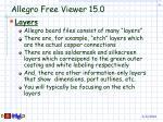 allegro free viewer 15 09