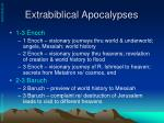 extrabiblical apocalypses