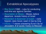 extrabiblical apocalypses1