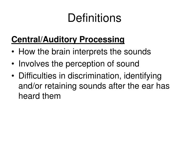Definitions1