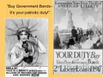 buy government bonds it s your patriotic duty